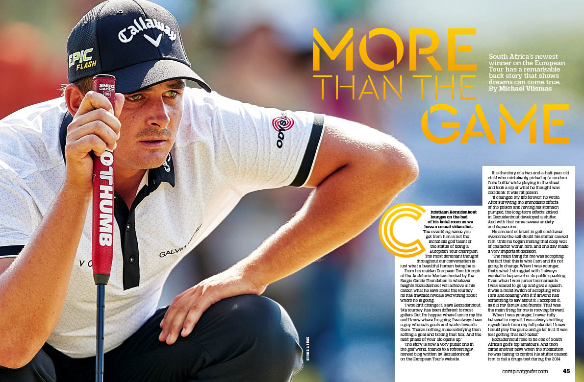 FROM THE MAG SAs newest @EuropeanTour winner @BezChristiaan has a remarkable story to tell | @MichaelVlismas compleatgolfer.com/magazine/bezui…