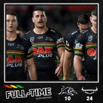 Image for the Tweet beginning: FULL-TIME. It ends in Townsville.  #NRLCowboysPanthers