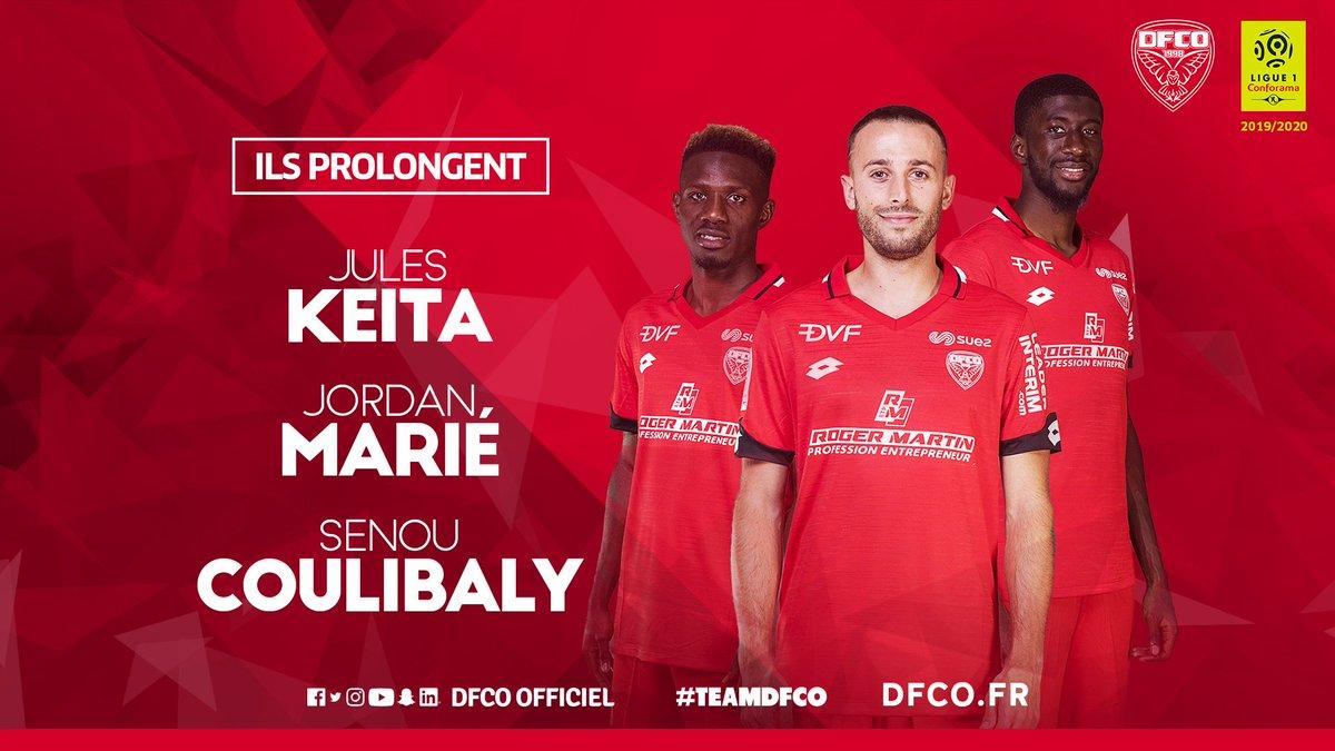 Jordan Marié, Jules Keita et Senou Coulibaly