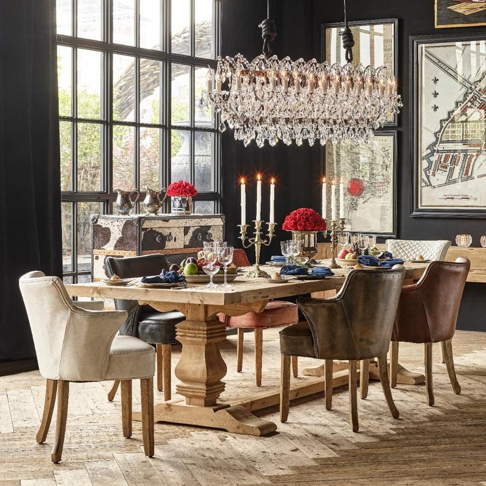 Pleasing Hearty Dining With The Georgian Architectural Dining Table Gmtry Best Dining Table And Chair Ideas Images Gmtryco