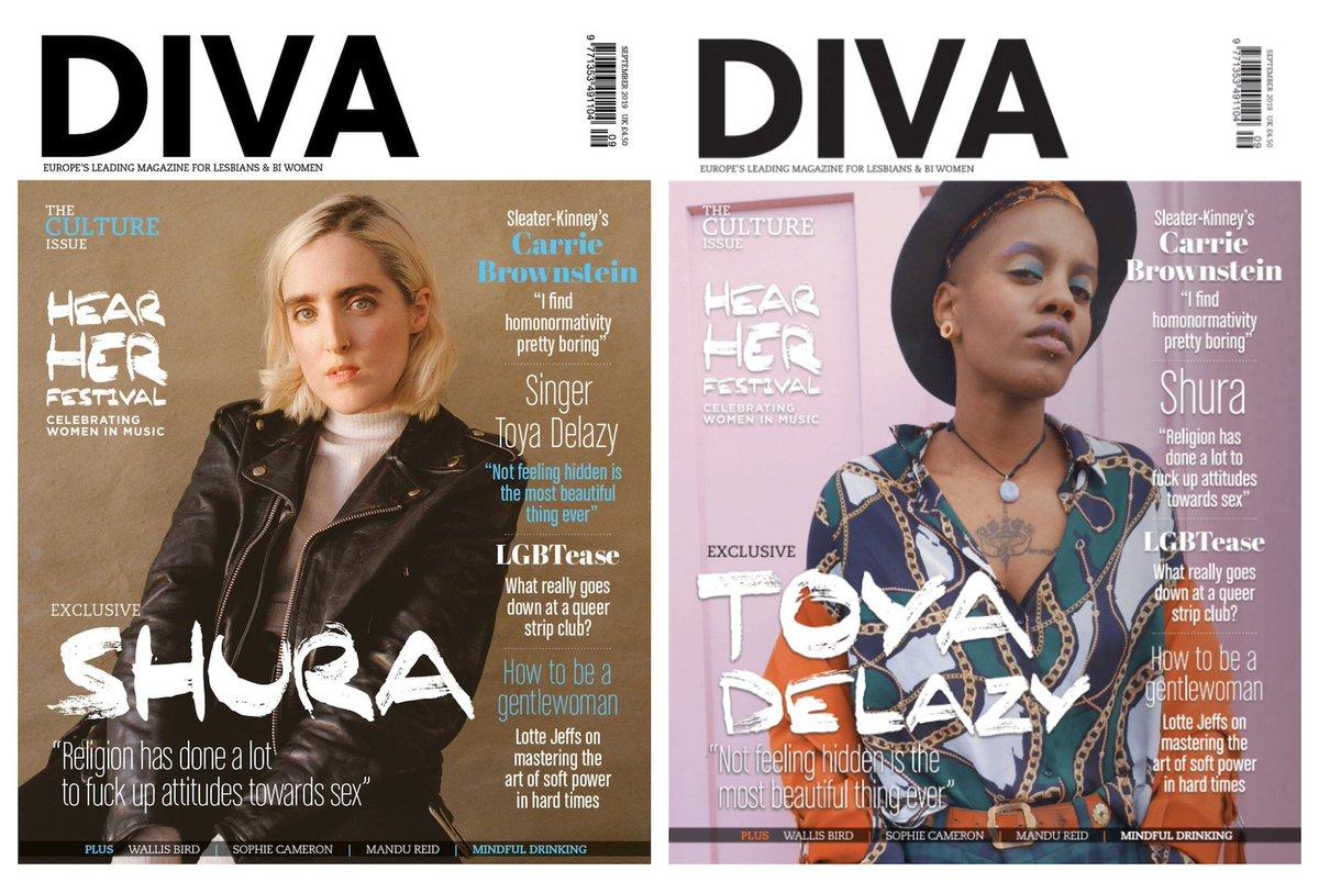 Website for lesbian magazines