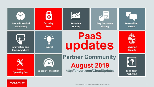 For @Oraclepartners certifications/trainings; @OracleOpenWorld tips AND a #SOA @OracleCloud Service Webcast… WATCH the #PaaS Partner YouTube Update Aug '19: #emeapartners @Oracleemeaps @fjtorres  http:// bit.ly/2L3ipcW    <br>http://pic.twitter.com/1RnWupe3qy