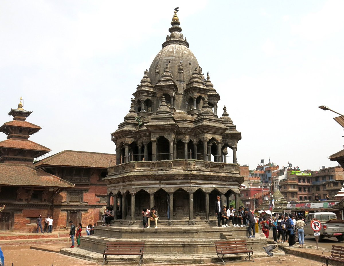 To add more color to our #Janmashtami celebrations, I am excited to announce the conservation & seismic strengthening of 18th Century Octagonal Krishna Temple in Patan under the Ambassadors Fund for Cultural Preservation in partnership w/ Kathmandu Valley Preservation Trust.