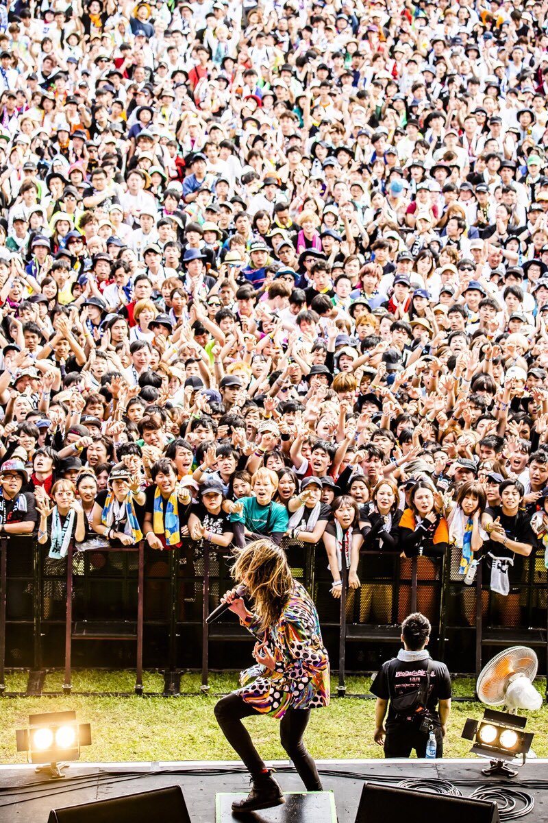 【#ワイバン 】山口きらら博記念公園「WILD BUNCH FEST. 2019」三年連続のワイルドバンチ!最高のシチュエーションに、最高のエネルギー!今年も本当に楽しい時間でした!また来年もここで会えますように!ありがとうございました!!photo by @cazrowAoki