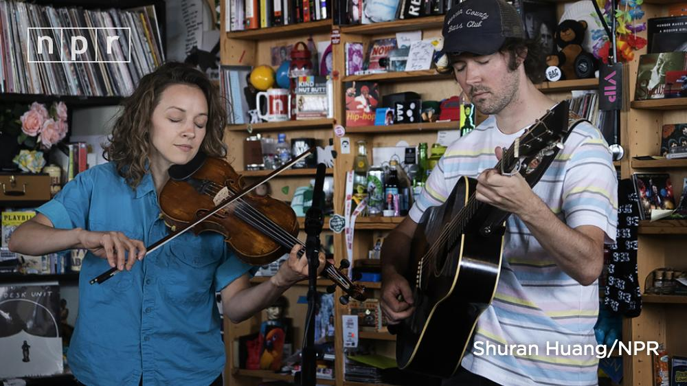 There is joy and thoughtfulness in the music of @Mandolin_Orange. Watch the duos #TinyDesk. n.pr/2P7rV3L