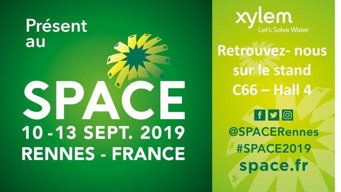 #SPACE, nouvelle édition ! Cette année encore, nous seront présent du 10 au 13/09, stand C66, hall 4 à Rennes. Découvrez nos dernières innovations : A...
