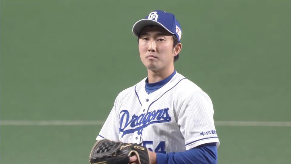 中日・藤嶋健人(21歳)19試合 防御率0.00藤嶋、19試合連続無失点です。