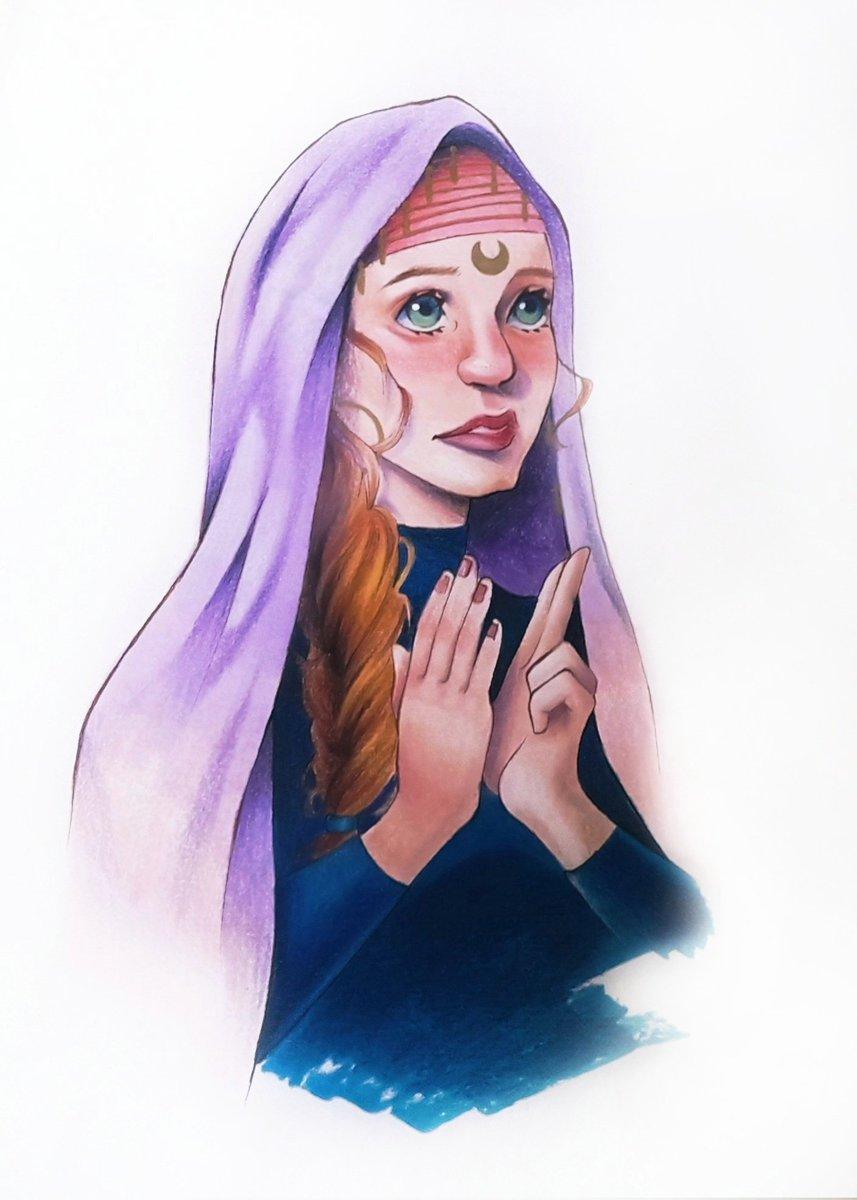 ☆ Priestess of the Moon ☆ Un ami est allé à la Basilique Notre-Dame du Rosaire récemment, ça ma inspiré faut croire.