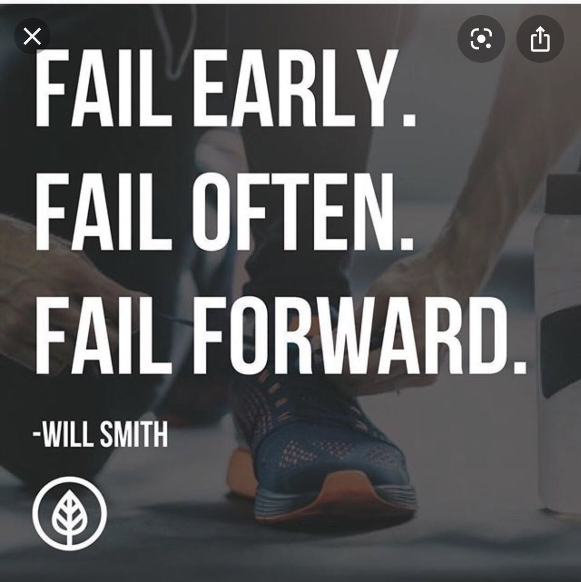 """Failing forward Friday.  #FFF   1/2 Discussion with a trainee on career.He wants to be in academics but is terrified of """"being a failure among superstars""""  We need to do a better job of sharing our stories of failing forward This is for him! #medtwitter<br>http://pic.twitter.com/XlCrVeI4Rb"""