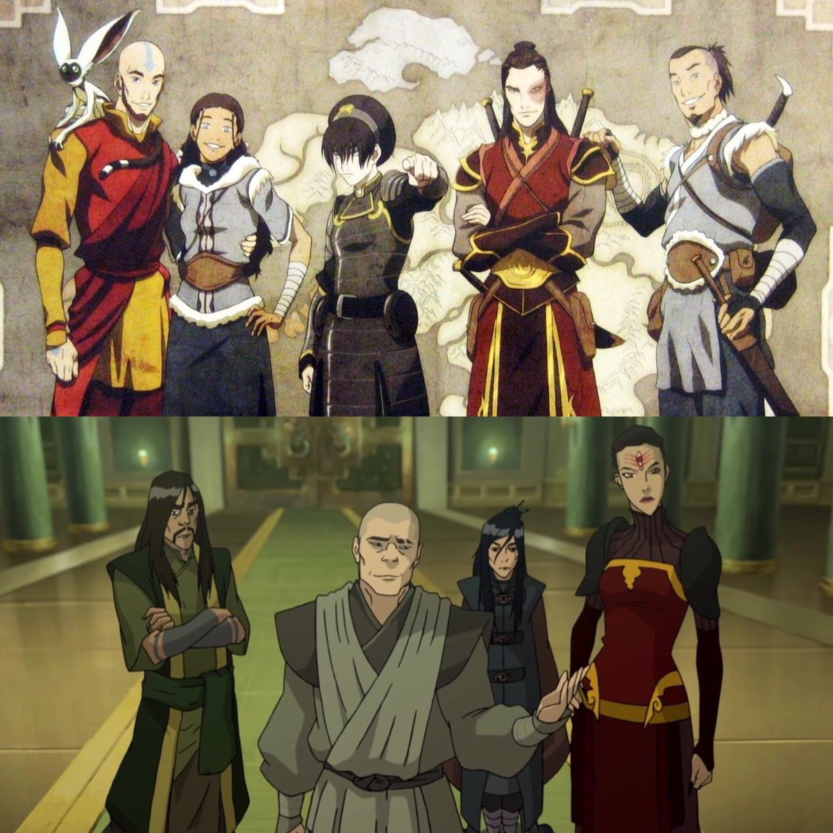 Zuko On Twitter Team Avatar Vs The Red Lotus Who Would Win