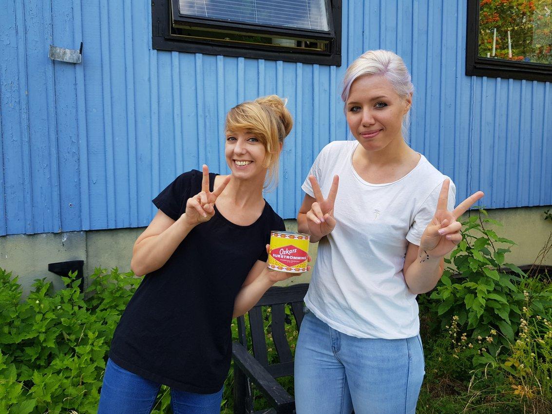 食べてみたら、シュールストレミングの味は好きになれなかったけど、ずっと笑っていてとても楽しかった経験でした o(^^)oフルレポはブログで書きます: