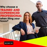 Why choose a trained and experienced professional when filing your taxes?  Tax laws are changing, and doing your own taxes could cost you hundreds or thousands of dollars. Hire someone today & save money.  https://t.co/PAZBix0nIj  #taxes #money #taxbill #taxaudit #taxtip