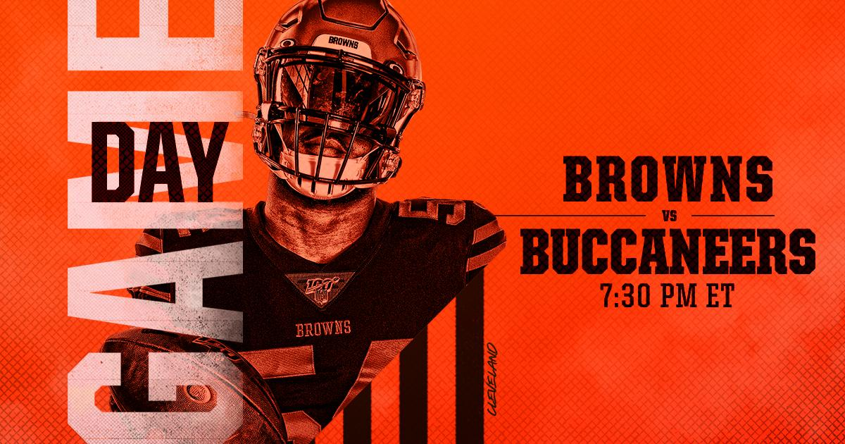 Rise and shine!   RT if you're ready for GAMEDAY!  #CLEvsTB<br>http://pic.twitter.com/hCid6Yzpq4