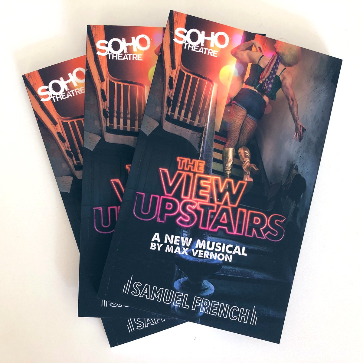 COMPETITION   To celebrate the end of our incredible run @sohotheatre we're excited to offer our amazing fans the chance to win one of three copies of the show's playtext signed by our very own @maxvernon   Simply RT to be in with a chance of winning! <br>http://pic.twitter.com/29P0DUKSkV