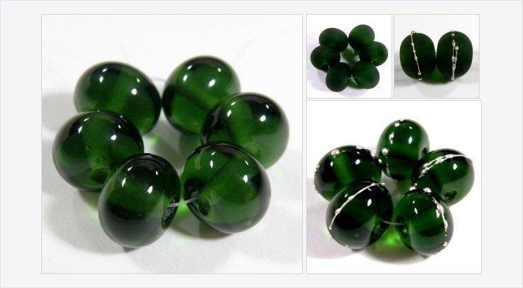 Handmade Lampwork Glass Beads, Transparent #Sage #Green Shiny Glossy 019g #handmade #lampwork #glass #bead #beads @covergirlbeads https://covergirlbeads.com/collections/green-handmade-lampwork-glass-beads/products/handmade-lampwork-glass-beads-transparent-sage-green-shiny-glossy-019g…
