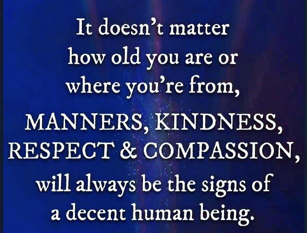 A decent human being...😊👌🏻