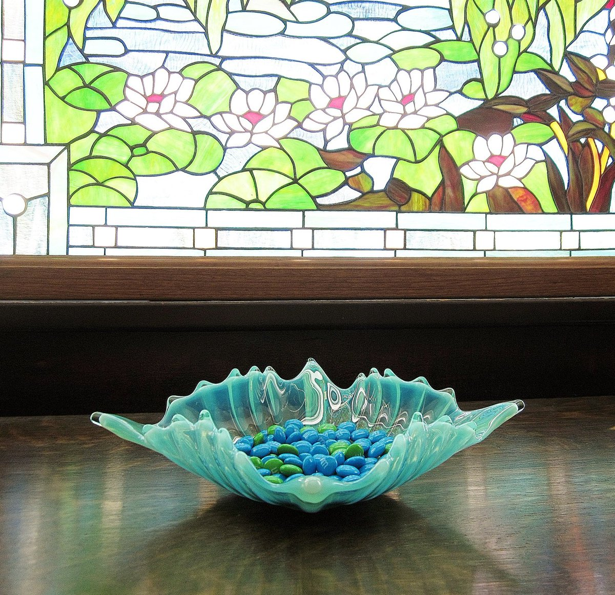 Opalescent Glass Candy Dish Fostoria Heirloom Star Bowl Mid Century 1960s Collectible Art Glass Mint Green Aquamarine Home Decor https://etsy.me/2zhlMHF #vintage #collectibles #blue #green #opalescentglass #glasscandydish #fostoriaheirloom #starbowl #midcentury1960s