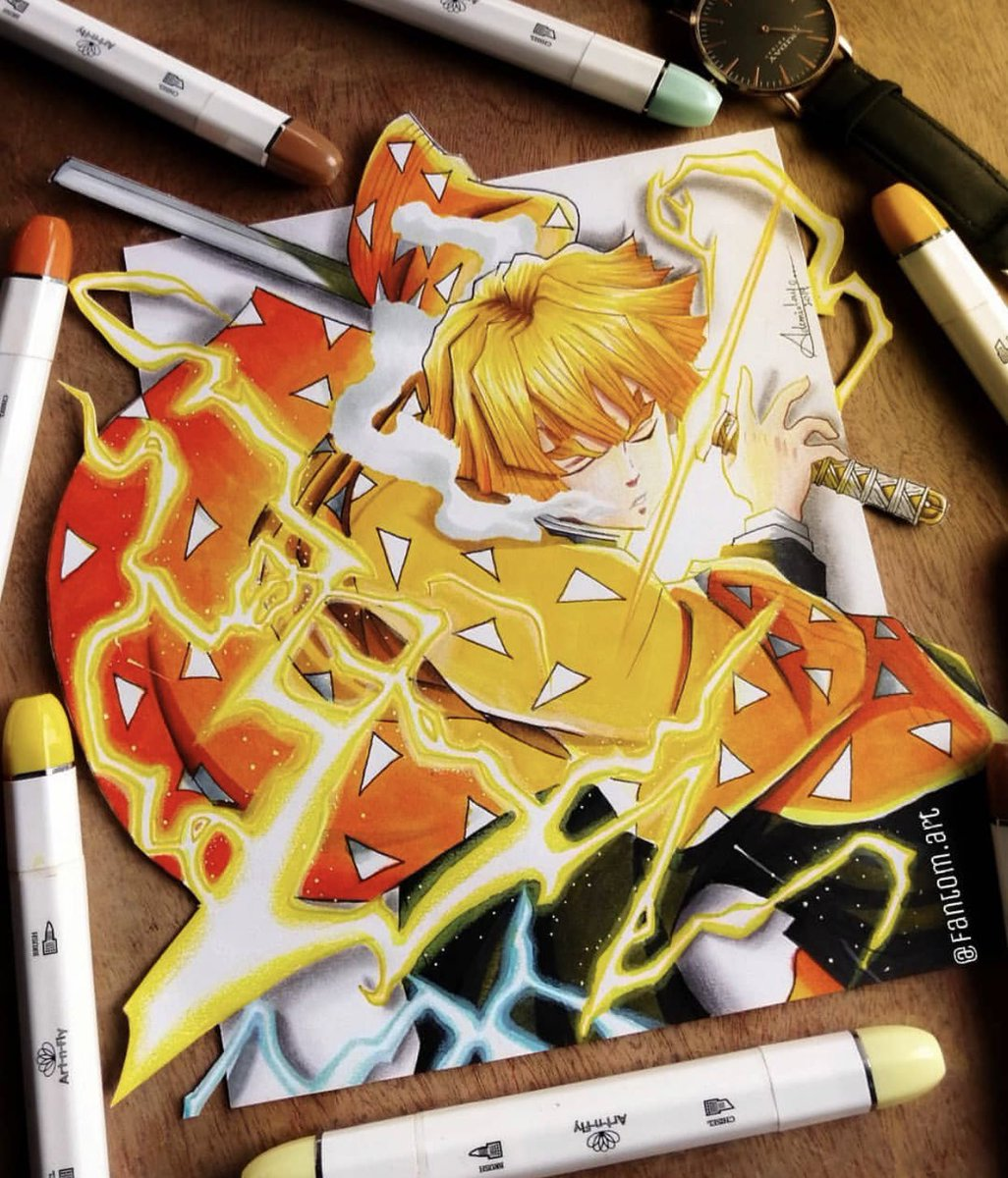Alright this is the best Demon Slayer art ive ever seen <br>http://pic.twitter.com/dLZmdjSRfu