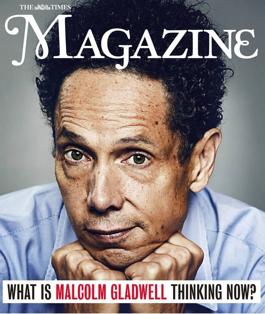 Interviewed the brilliant @Gladwell for @TimesMagazine tomorrow, about his new book #TalkingToStrangers