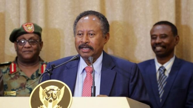 Congratulations to our brother Abdalla Hamdok, new Prime Minister Sudan. Great news! We are expecting a lot from you. <br>http://pic.twitter.com/tS75q0IsFP