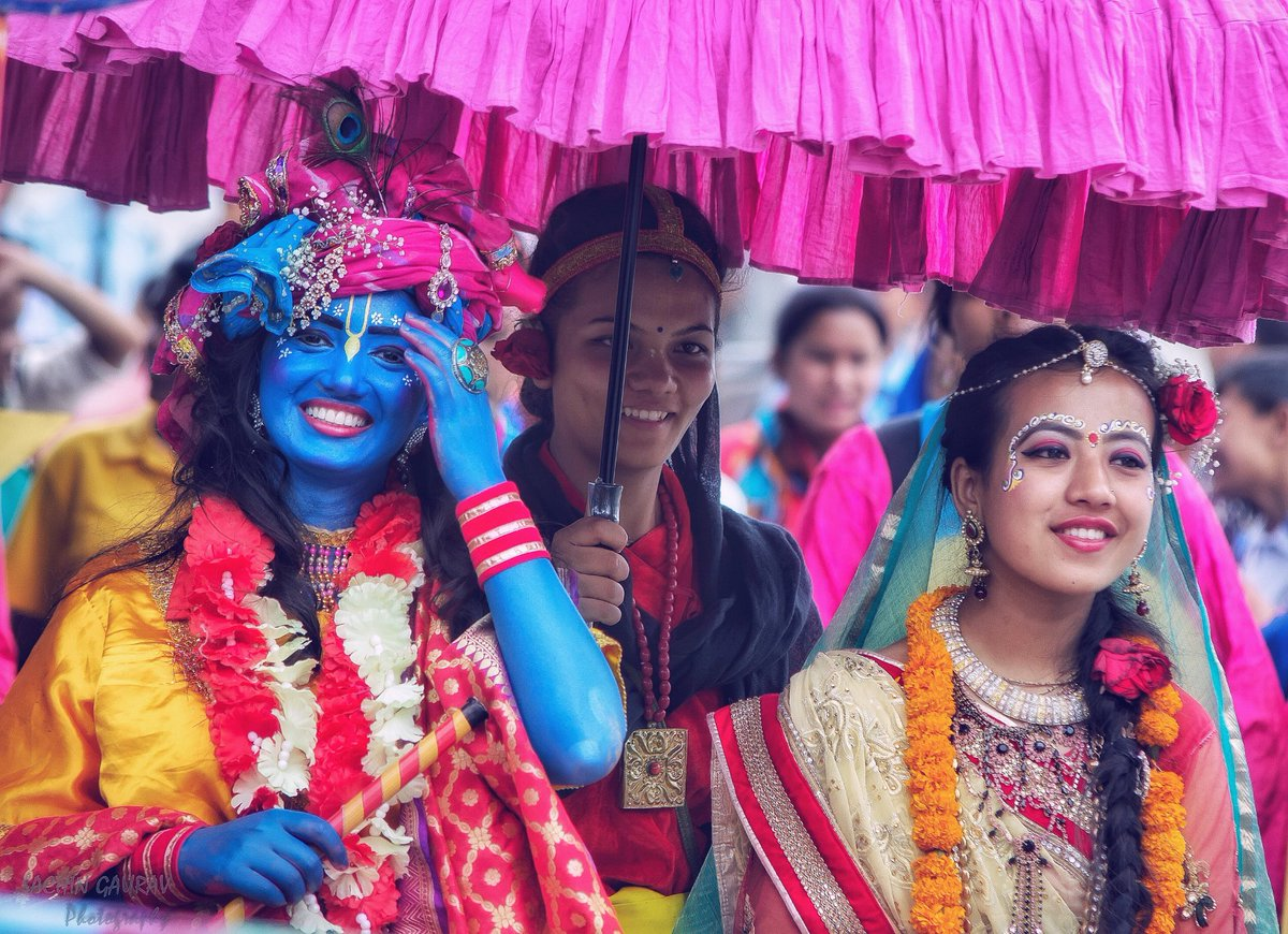 Happy Janmashtami 🎉🎊.#Happyjanmasthami2019 #ISKCON_Nepal #ISKCON #kathmandu #Nepal #StreetOfNepal#Nikon #IAMNikon #Nikond5200