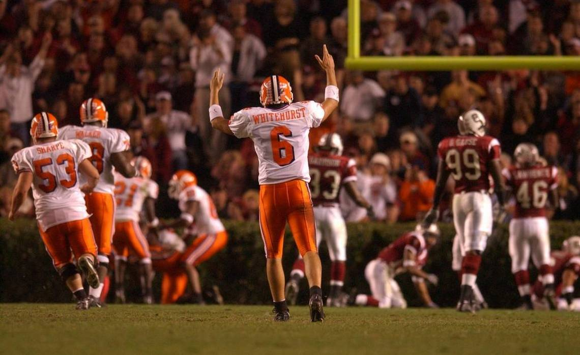 "6 days to go... @cwhitey6 aka the ""Coot Killer"" and ""Clipboard Jesus"" ..wore the #6 Proudly while at Clemson, dude will forever be my favorite QB because of his personality and performance. Lessgooo 6!!!!  #ALLIN   #ClemsonFamily <br>http://pic.twitter.com/wY0vlSmpR1"