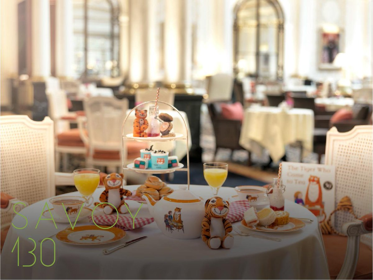There is no experience quite as magical as taking your little ones for Afternoon Tea. Based on Judith Kerrs beloved classic, The Tiger Who Came to Tea, and perfectly catered to our younger guests, its delightful fun for all the family! #SavoyStyle ow.ly/3SuI50vjShA