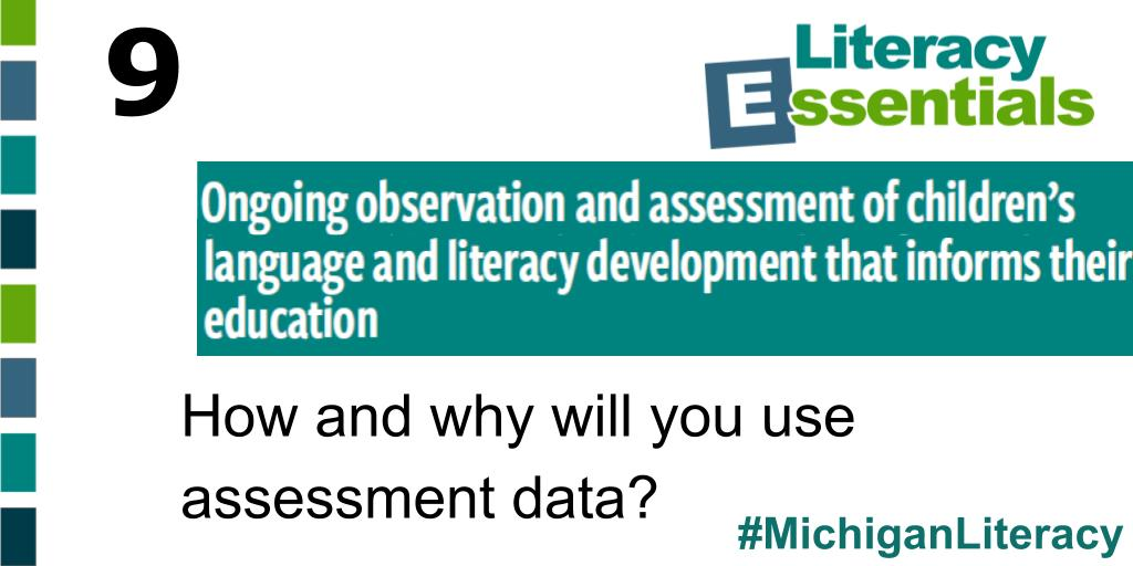 Q9: How and why will you use assessment data? #MichiganLiteracy<br>http://pic.twitter.com/icZfNp776W