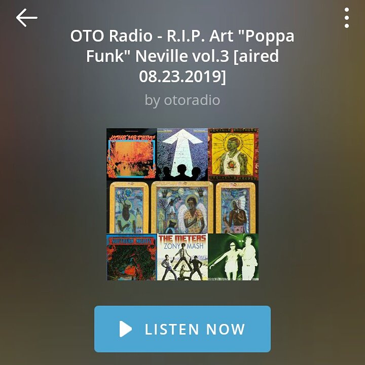 OTO Radio - R.I.P. Art