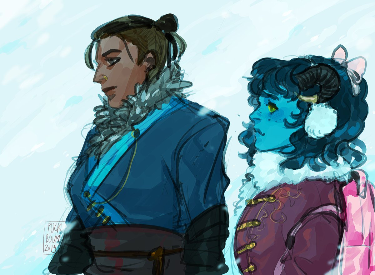 Currently watching ep 75 and I wanna draw everyone in cute winter clothes  #CriticalRole #CriticalRoleFanart <br>http://pic.twitter.com/nN66Hs2hQp