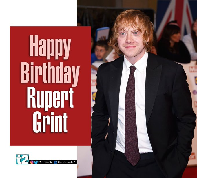 Here\s wishing Ron Weasley aka Rupert Grint a very happy birthday!