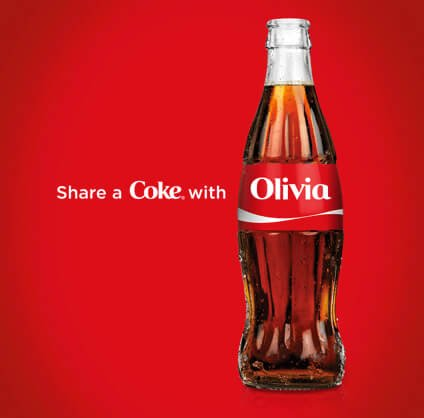 #FunFriday - highlighting one of the best #usergeneratedcontent campaigns ever.All you need to do is give them a way to personalize your brand, like w/ their name. #shareacokeWhat have been your favorite user-generated content ideas? Share 'em! [img: Betsy Stevens, Cameron]