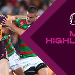 Image for the Tweet beginning: #NRLBroncosSouths was a game full