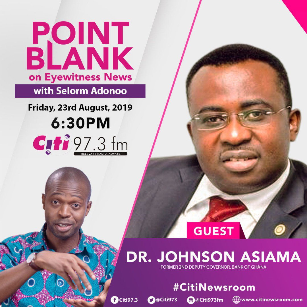 On #PointBlank on #EyewitnessNews tonight!👇#CitiNewsroom @Citi973
