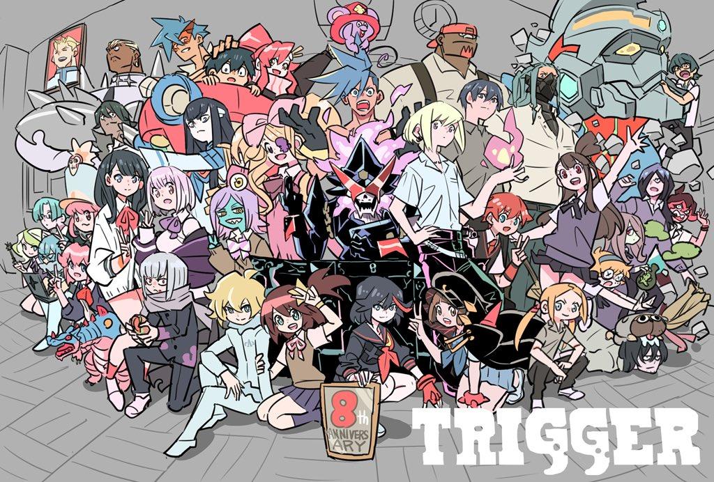 1日遅れのTRIGGER8周年おめでとうございます🙏🙏🙏✨✨フォーサイト学園TRIGGER組(オーバージャスティス先生)