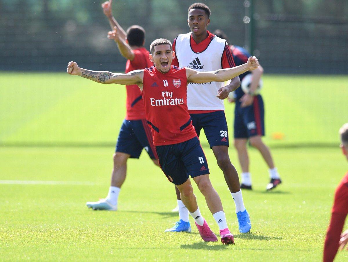 Listo ✅ para la gran batalla de mañana ⚽️💪🏻 #Liverpool #Arsenal #PremierLeague #ComeOnGunner🔴 #LT11🦁
