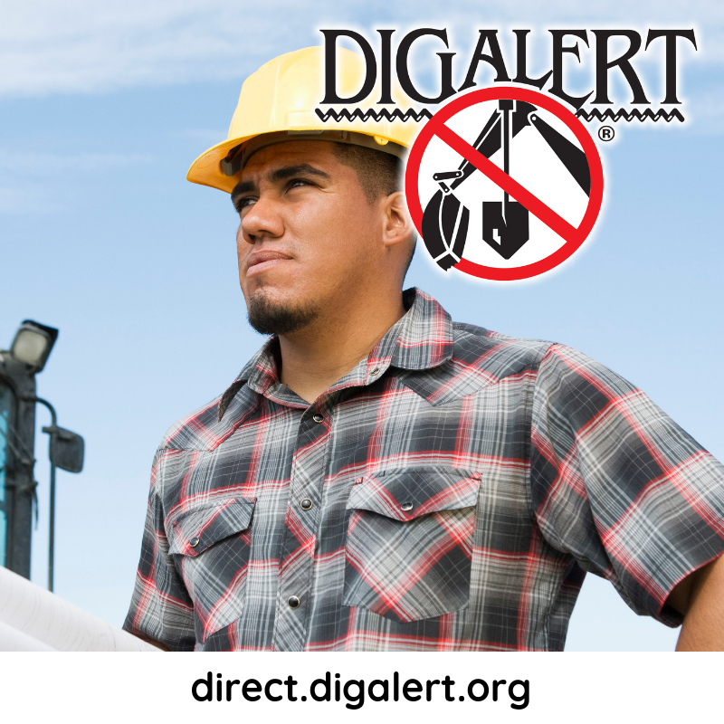 Is contacting DigAlert before an excavation project mandatory?  The answer is a resounding…