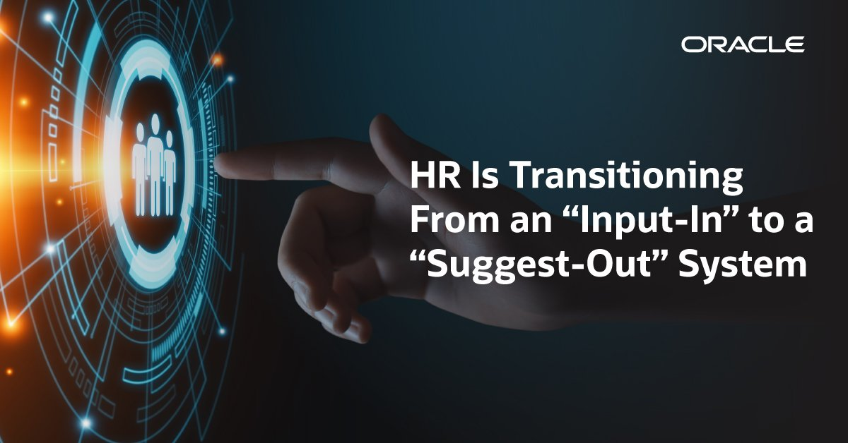 Is there an equivalent of the autonomous car in #HR software's future? Check out what @stevenrmiranda says about the HR transition: oracl.info/sVBh50vGwY4 #AI #machinelearning