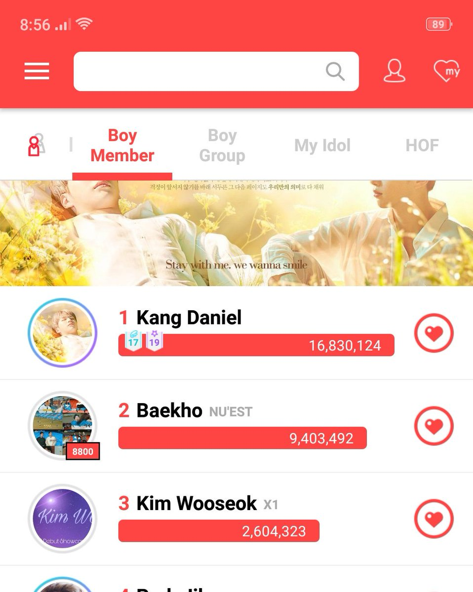 He is climbing up so fast to get to the top,,, #kangdaniel @danielk_konnect<br>http://pic.twitter.com/F6EKgYOdKf