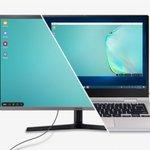 Image for the Tweet beginning: Samsung releases DeX desktop app