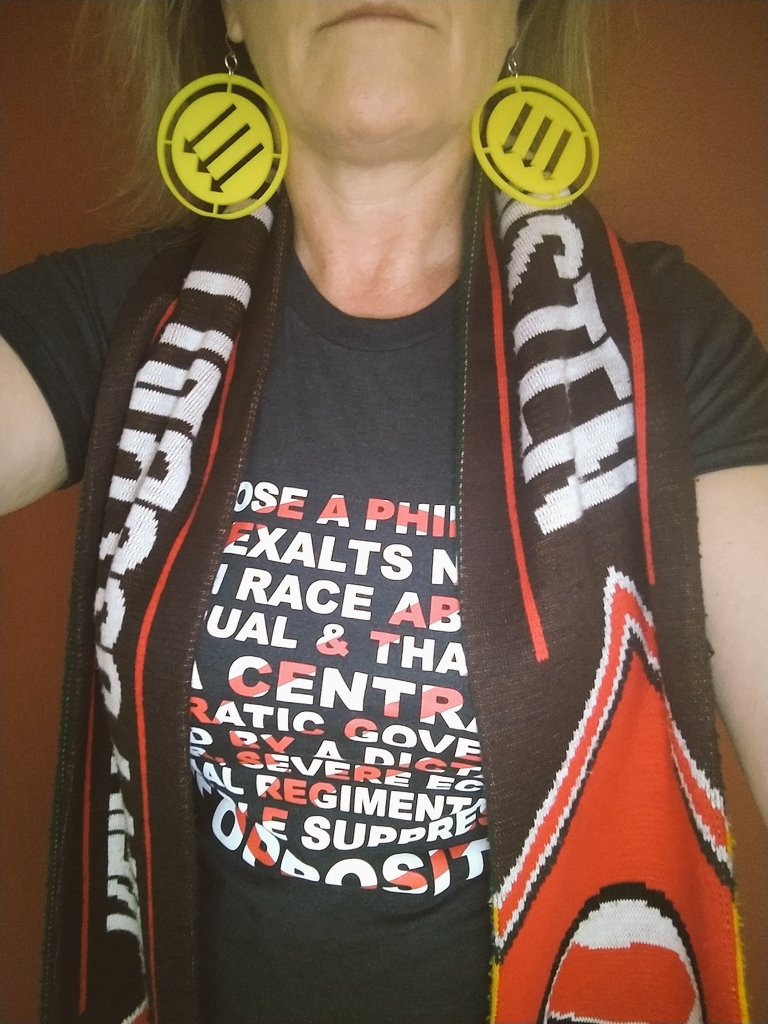 Okay I'm ready to go to work #AUnitedFront #RCTID  <br>http://pic.twitter.com/MyZZUASaPr