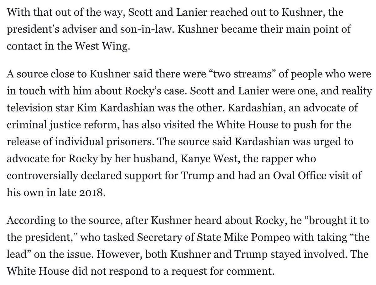 RT @JayShams: Incredible how Jared Kushner keeps getting played. https://t.co/o6ejdL6yXS