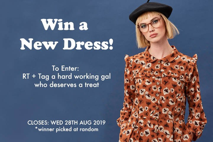It's Freebie Friday Gals!  Win a NEW Dress. Follow, RT + Tag a gal who deserves a treat!  Can't wait to win? Shop now: http:// ow.ly/vxLZ50vpfCG      #FridayFeeling #FreebieFriday #win #competition #bankholidayweekend<br>http://pic.twitter.com/iy7sL6hJwH