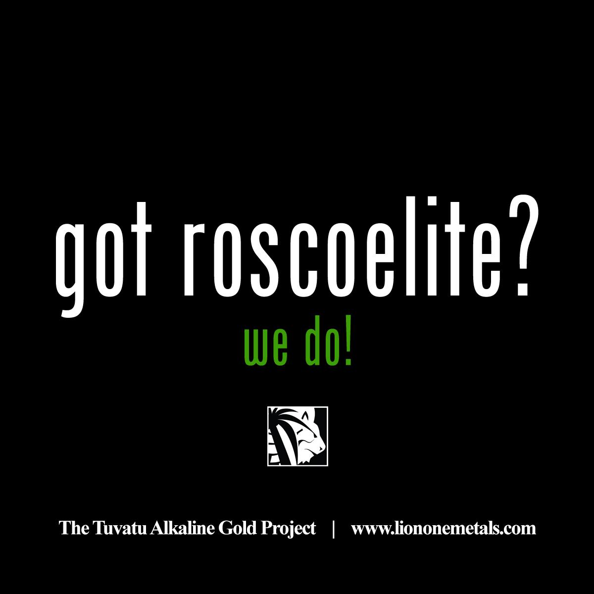 got roscoelite? we do! #alkaline #gold #tuvatu #caldera #exploration #mining #green $LIO $LOMLF