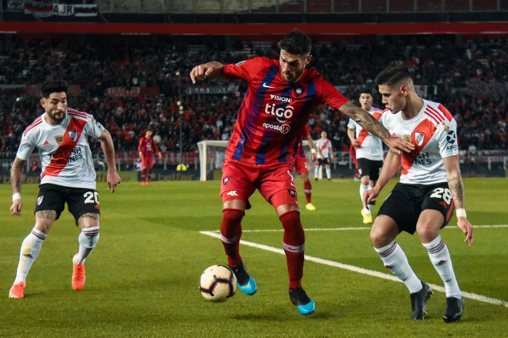 Larrivey, Cerro Porteño, River, Libertadores 2019