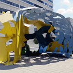 """On #NationalMarylandDay, learn about """"Baltimore Federal,"""" a 1978 sculpture by artist George Sugarman, commissioned through GSA's Art in Architecture Program, now at the Edward A. Garmatz Federal Building in #Baltimore, MD! https://t.co/y9M1QbtVxV"""