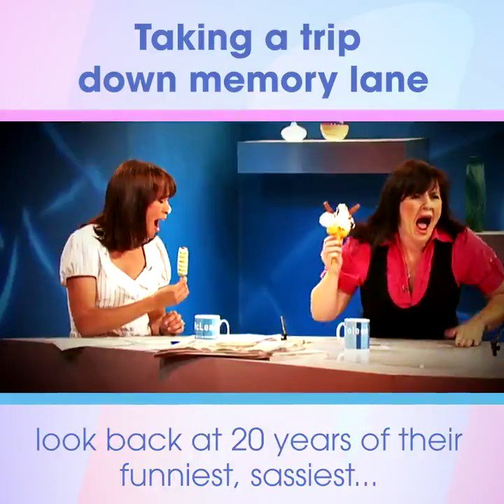 Well, that flew by... Can you believe in just a couple of weeks time we turn 20 years old?! Join us on Mondays #LooseWomen at 12:30, for a special walk down memory lane. Heres a hint of whats to come...