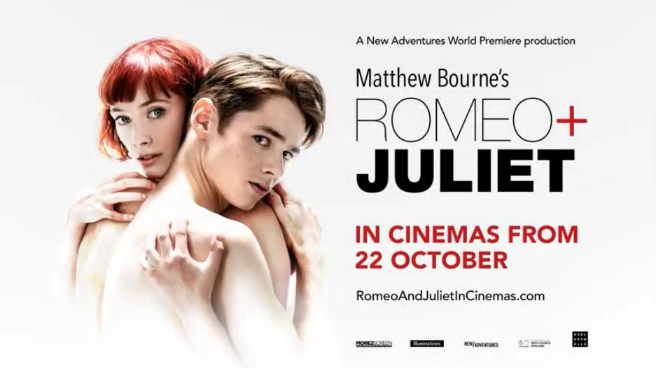 For those of you that haven't heard..we are now showing Matthew Bournes' Romeo & Juliet!! For one night only! This is the world premiere of his brand new dance production. https://t.co/Kd3rFsSRbB https://t.co/7Zp6JjJBBn