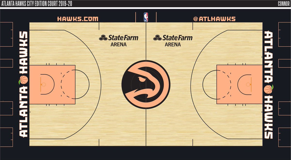 """The Hawks will reportedly showcase this """"Peach State"""" court this season.  <br>http://pic.twitter.com/kwUnTerGNd"""