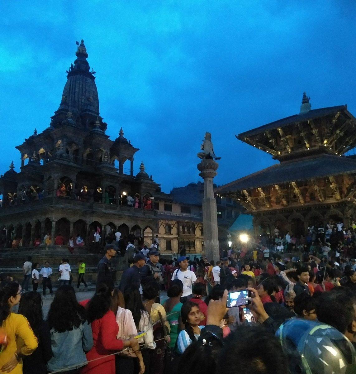 Evening shades of Patan Durbar Square ! #VisitNepal2020